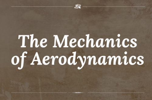 The Mechanics of Aerodynamics